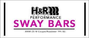 BMW Z3 M H&R Sway Bars