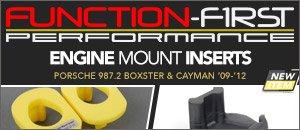 Porsche 987 Boxster & Cayman Performance Engine Mounts