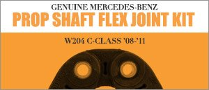 Mercedes-Benz W204 C-Class Propeller Shaft Flex Kit