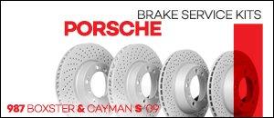 Porsche 987 Boxster/Cayman S Brake Service Kits