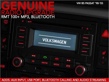 ECS News - VW B5 Passat Genuine Radio Upgrade