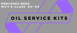 Mercedes-Benz W211 E-Class Oil Service Kits