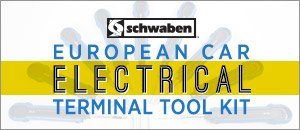 Schwaben European Car Electrical Terminal Tool Kit
