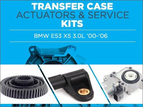 Ecs News Bmw E53 X5 Transfer Case Amp Actuator Service Kits