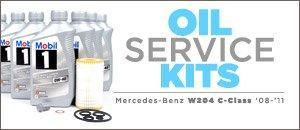 Mercedes Benz W204 C-Class Oil Service Kits