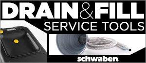 Schwaben Drain & Fill Service Tools
