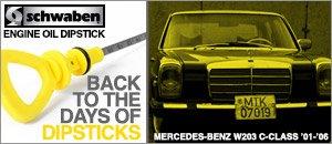 Mercedes-Benz W203 C-Class Schwaben Engine Oil Dipstick