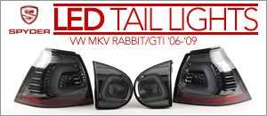 VW MKV Rabbit/GTI Spyder LED Tail Light Sets