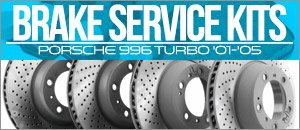 Porsche 996 Turbo Brake Service Kits