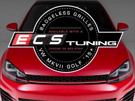 ECS News - VW MKVII Golf ECS Badgeless Grilles