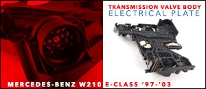 Mercedes-Benz W210 Trans Valve Body Electrical Plate