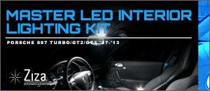 Porsche 997 Ziza LED Master LED Interior Lighting Kit