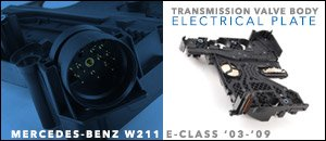 Mercedes-Benz W211 Trans Valve Body Electrical Plate