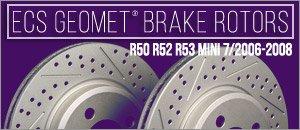 R50 R52 R53 Mini (7/2006-2008) GEOMET® Coated Rotors