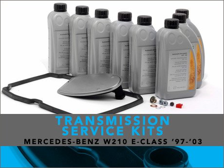 Ecs news mercedes benz w210 e class transmission service for Mercedes benz transmission repair