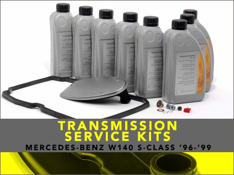 ecs news mercedes benz w140 s class transmission service kits. Black Bedroom Furniture Sets. Home Design Ideas