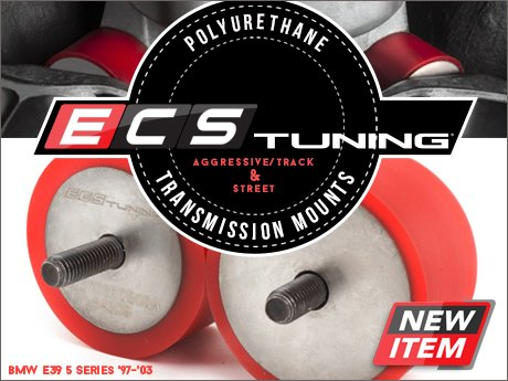 ecs news bmw e39 5 series ecs polyurethane transmission mounts. Black Bedroom Furniture Sets. Home Design Ideas