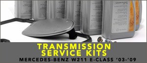 Mercedes-Benz W211 E-Class Transmission Service Kits