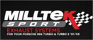 Porsche 996 Turbo/S Milltek Performance Exhaust Systems