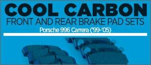 Porsche 996 Carrera Cool Carbon Performance Brake Pads