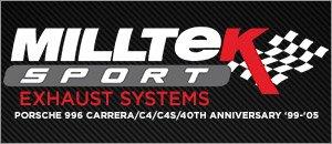Porsche 996 Carrera Milltek Performance Exhaust Systems