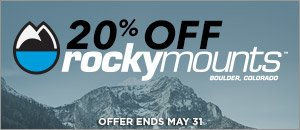 RockyMounts 20% Off May Sale