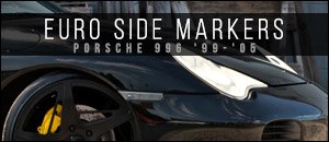 Porsche 996 Smoked Euro Side Markers