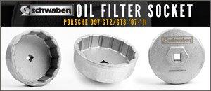 Porsche 997 GT2/GT3 Oil Filter Sockets