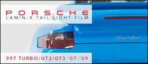 Porsche 997 Lamin-X Tail Light Protective Film
