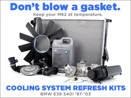 ecs news bmw e39 540i cooling system refresh kits. Black Bedroom Furniture Sets. Home Design Ideas