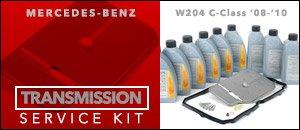 Mercedes-Benz W204 C-Class Auto Trans Service Kits