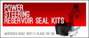 Mercedes-Benz W211 E-Class Power Steering Seal Kits