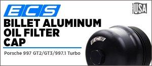 Porsche 997 ECS Billet Aluminum Oil Filter Cap