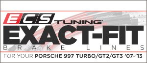 Porsche 997 Turbo Exact-Fit Stainless Steel Brake Lines