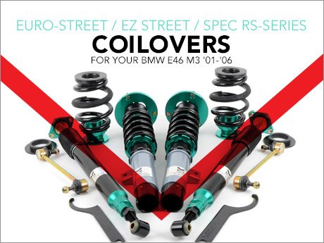 ECS News - Megan Racing Coilovers for your BMW E46 M3