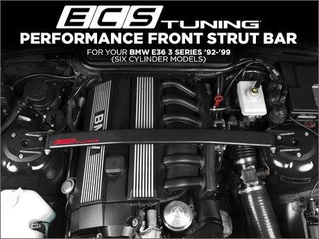 ECS News BMW E Cylinder ECS Strut Bar - 6 cylinder bmw
