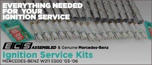Mercedes-Benz W211 E500 Ignition Service Kits