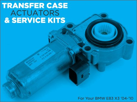 ECS News - BMW E83 X3 Transfer Case &