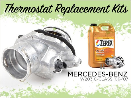Ecs News Mercedes Benz W203 Thermostat Replacement Kits