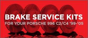 Porsche 996 Brake Service Kits