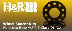 H&R Wheel Spacers for your Mercedes-Benz W210 E-Class