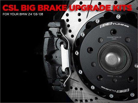 Ecs News Csl Big Brake Upgrade Kit For Your Bmw Z4