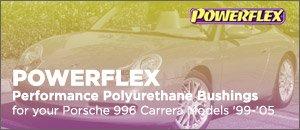 Porsche 996 Carrera Powerflex Bushings