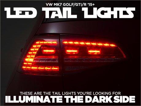 Vw Mk7 Golf Gti R Euro Led Tail Light Sets
