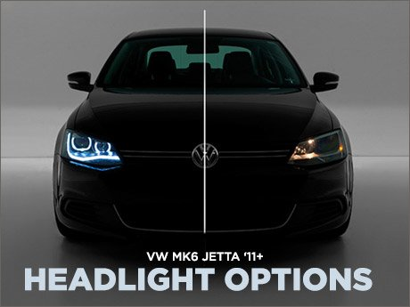 Ecs News Headlight Options For Your Vw Mk6 Jetta