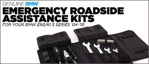 BMW E60 5 Series Emergency Roadside Assistance Kits