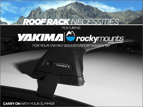 Ecs News Vw Mk7 Golf Gti Sportwagen Roof Rack