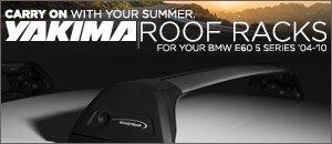 BMW E60 5 Series Yakima Roof Racks