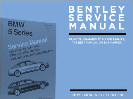 ecs news bentley service manuals for your bmw e60 5 series. Black Bedroom Furniture Sets. Home Design Ideas