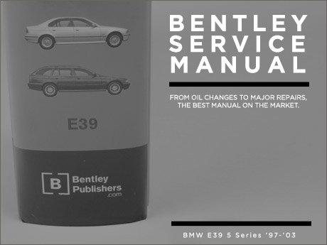 bmw 540i 1997 repair service manual